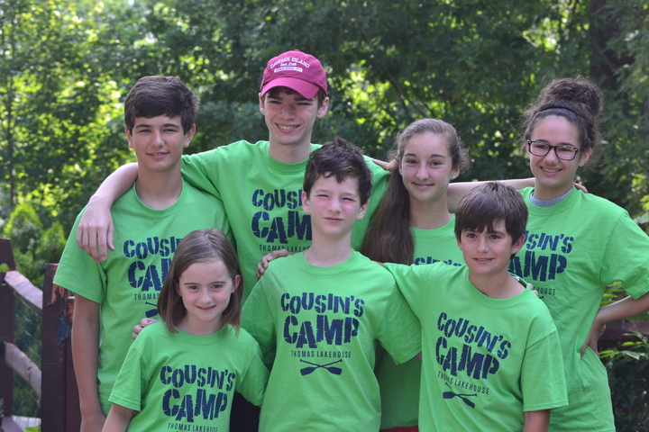Cousin's Camp  T-Shirt Photo