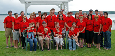 Lowe Family Reunion T-Shirt Photo