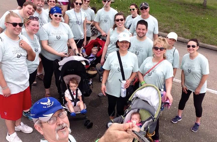 Team Townes Marches For Babies In Htx! T-Shirt Photo