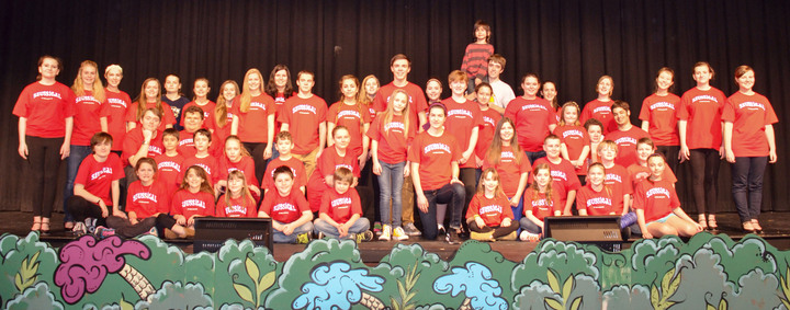 Madrid Waddington Spring Musical 2015 T-Shirt Photo