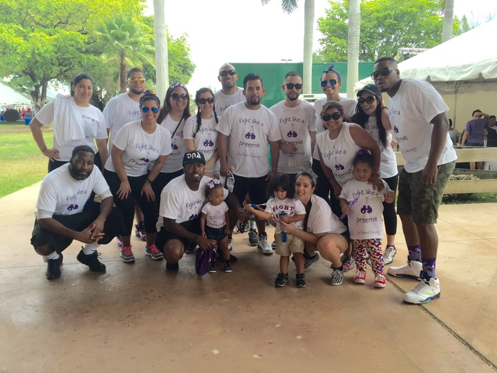 Ava Monroe's Entourage At March For Babies 2015 T-Shirt Photo