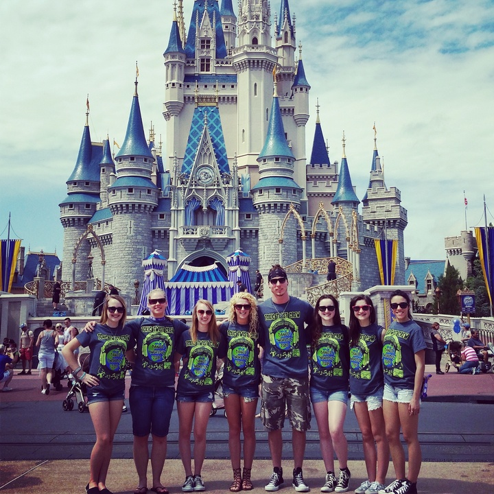 Toxic Twist Crew At Dance Worlds 2015 In Disney! T-Shirt Photo