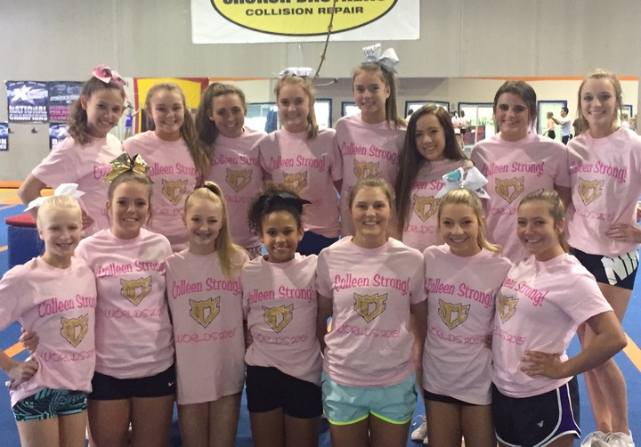 Colleen Strong Worlds 2015 T-Shirt Photo