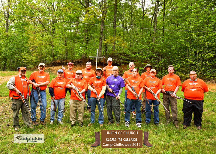 Union God N' Guns Men's Retreat T-Shirt Photo