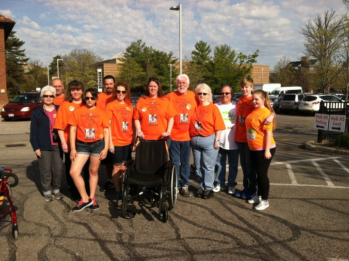 Walk Ms, Team Walk For Mom T-Shirt Photo