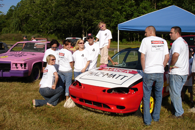 Team Haz Matt At The Demolition Derby: 08.08.08 T-Shirt Photo