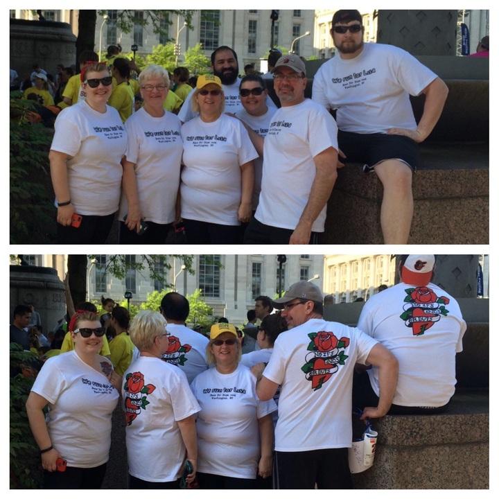 Lisa's 5 K Crew  T-Shirt Photo