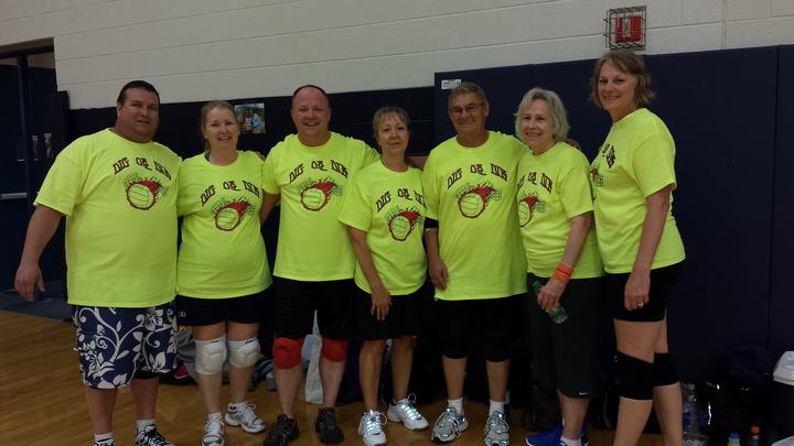 2015 Zebra Volleyball Tournament T-Shirt Photo
