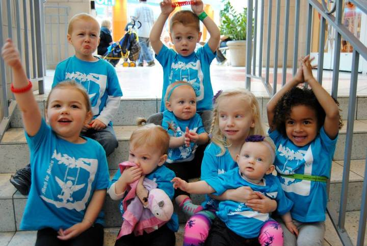 Babies Marching For Babies  Go Lily March Of Dimes Team T-Shirt Photo
