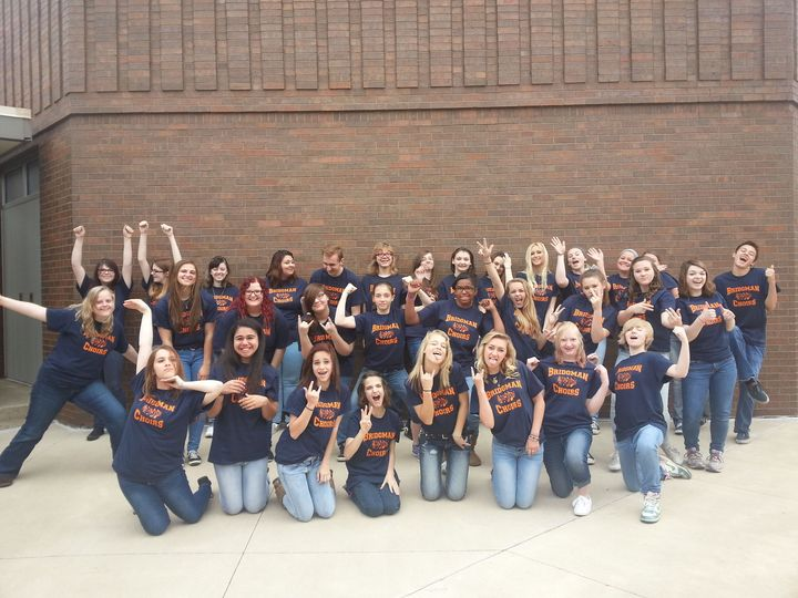Showing Off That Choir Swag T-Shirt Photo