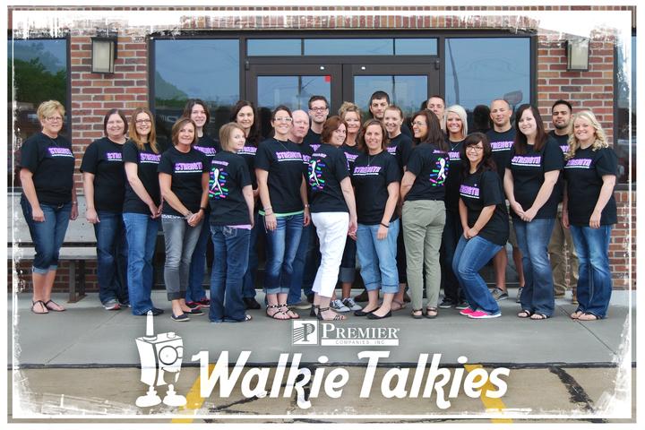 Premier Walkie Talkies T-Shirt Photo