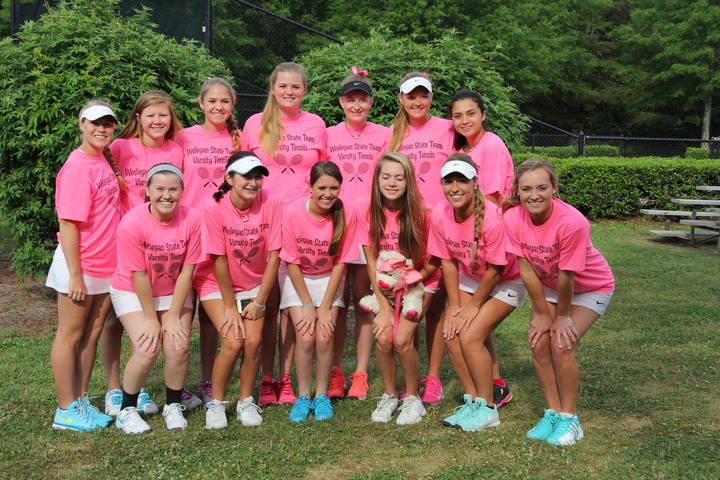 Wesleyan Wolves Hs State Tennis Champions 2015 T-Shirt Photo