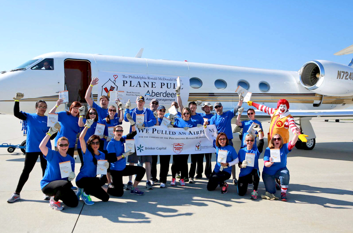 Brinker Capital Pulls Plane! T-Shirt Photo
