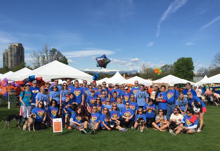 Ms Walk 2015   Ms Superheroes T-Shirt Photo