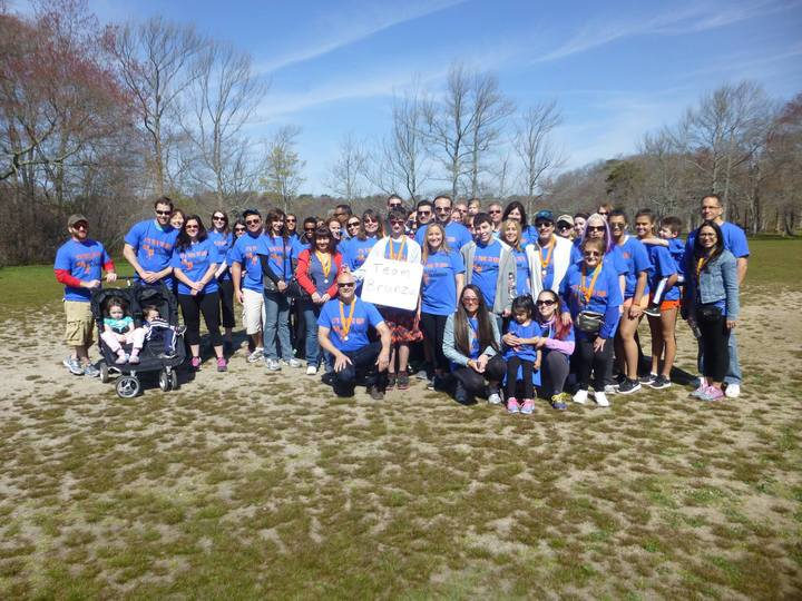 Team Brunza At The Ms Walk T-Shirt Photo