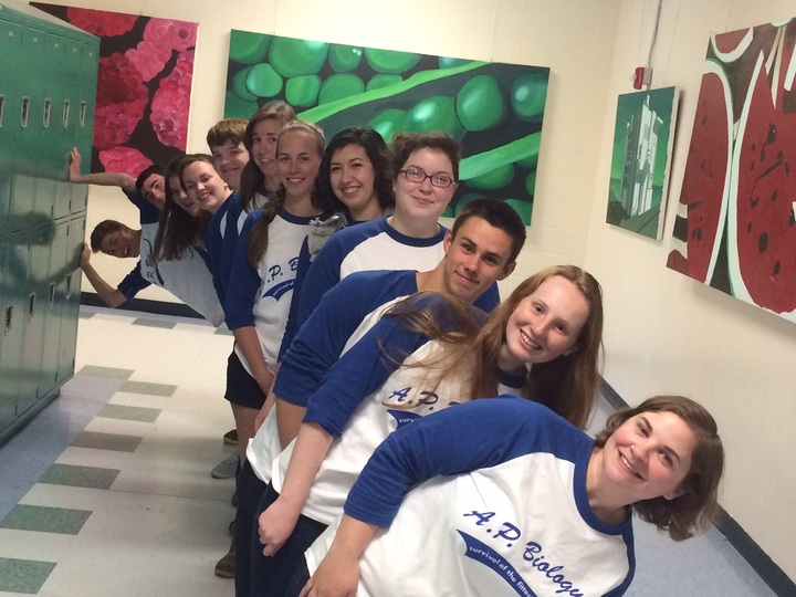 Ap Biology Survival Of The Fittest T-Shirt Photo