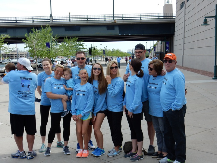 Autism Walk Denver Colorado 2015 T-Shirt Photo