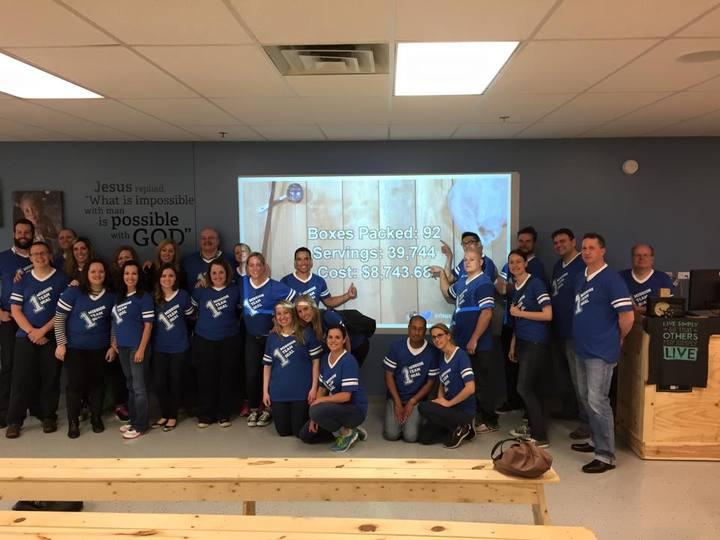 Math Team Feeds The Children T-Shirt Photo