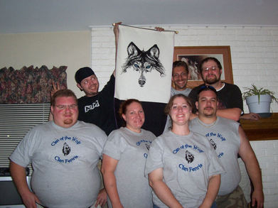 Clan Of The Wolf T-Shirt Photo