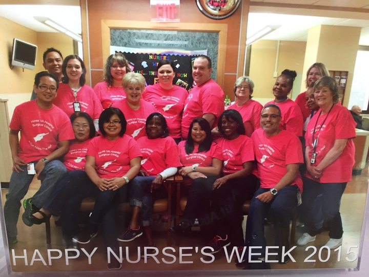 Outpatient Surgical Clinics Nurses Week 2015 T-Shirt Photo