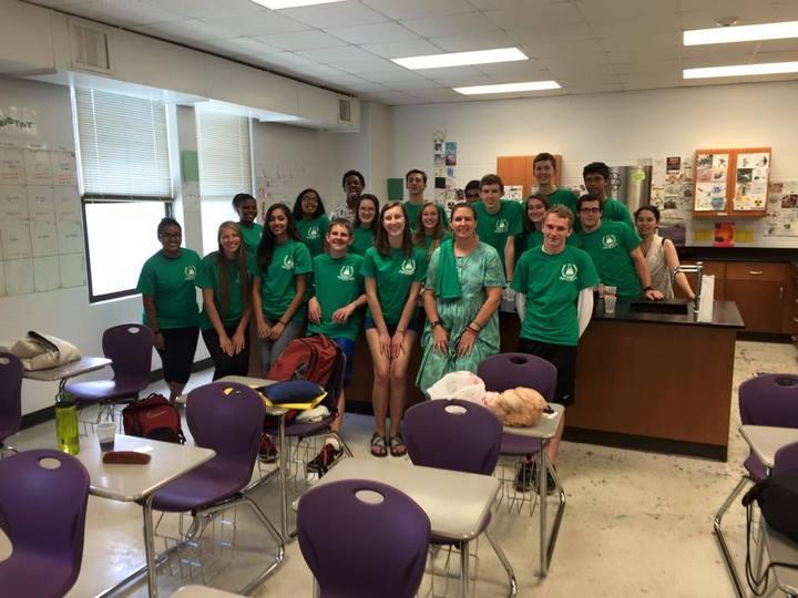 Ap Chemistry   Thank You Ms. Brim T-Shirt Photo