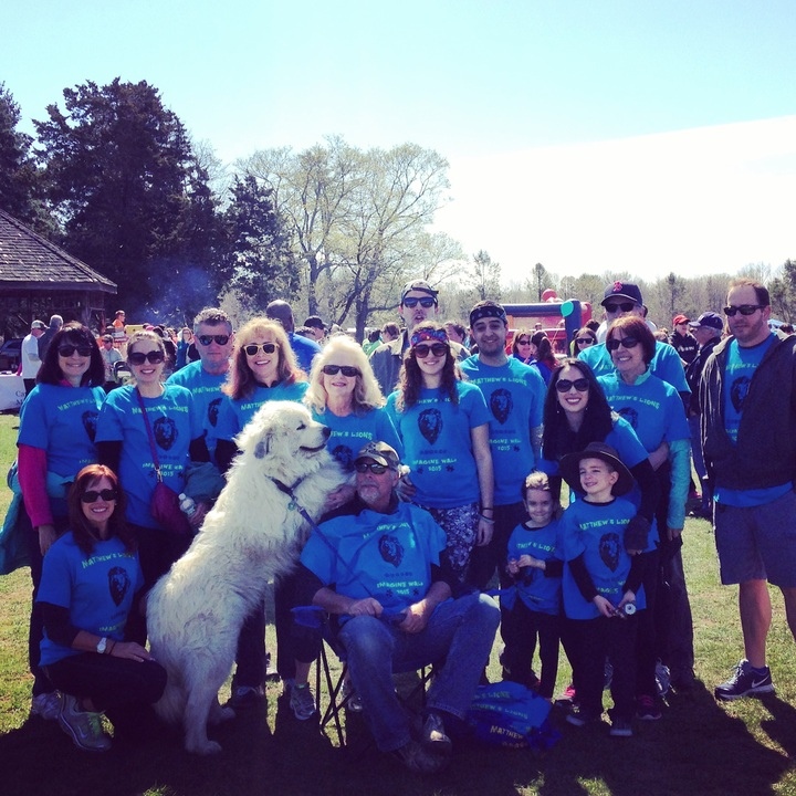 Walking For Autism T-Shirt Photo