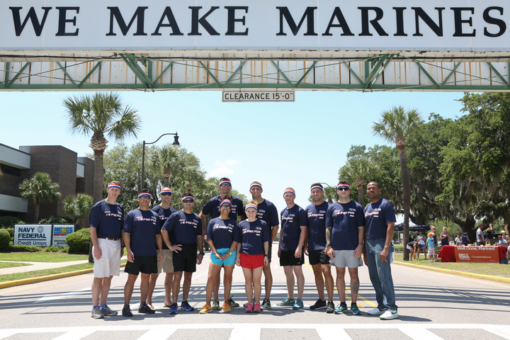 """We Make Marines"" T-Shirt Photo"