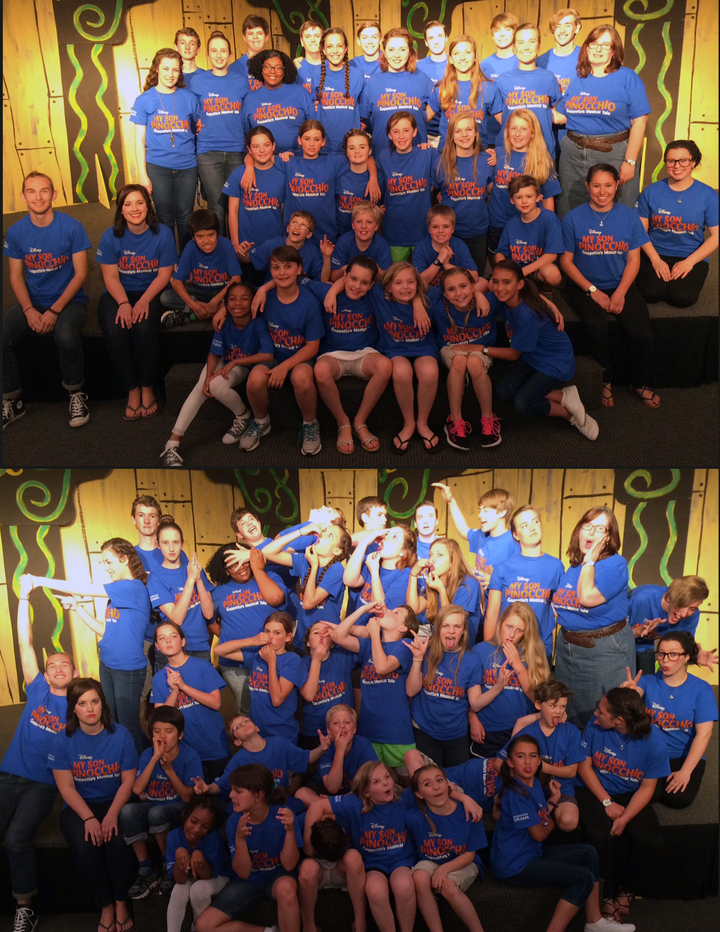Pinocchio Company! T-Shirt Photo