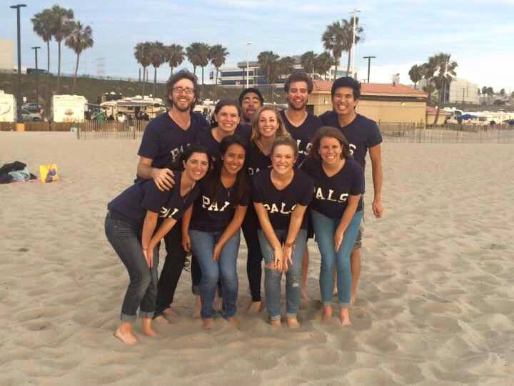 Pals At The Beach T-Shirt Photo