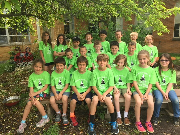 Camp Einstein 2nd Grade T-Shirt Photo