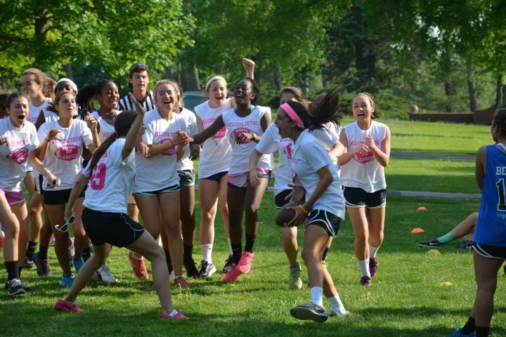 Powder Puff Touchdown! T-Shirt Photo