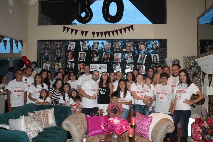 Julie's Scandalous 30th!! T-Shirt Photo