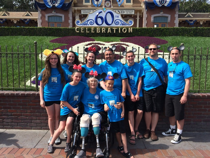 Grammy's Groupies Trip To Disneyland T-Shirt Photo