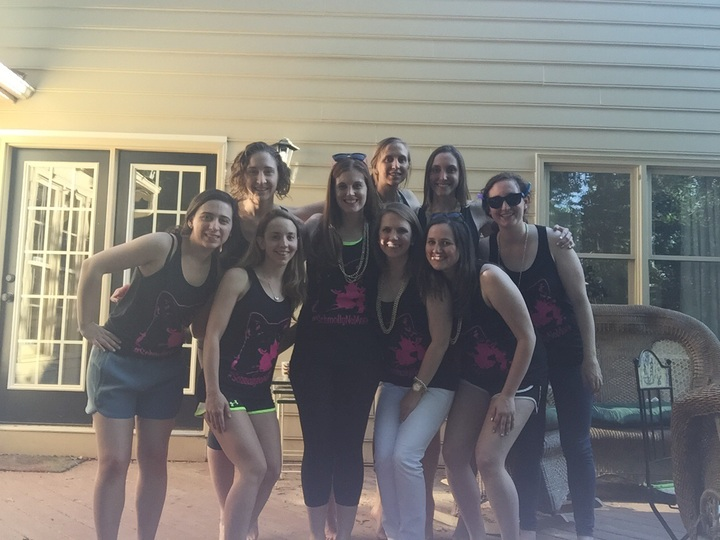 Schmolly And Friends (And Sasspot) Celebrating #Schmolly No More's Bachelorette Party! T-Shirt Photo