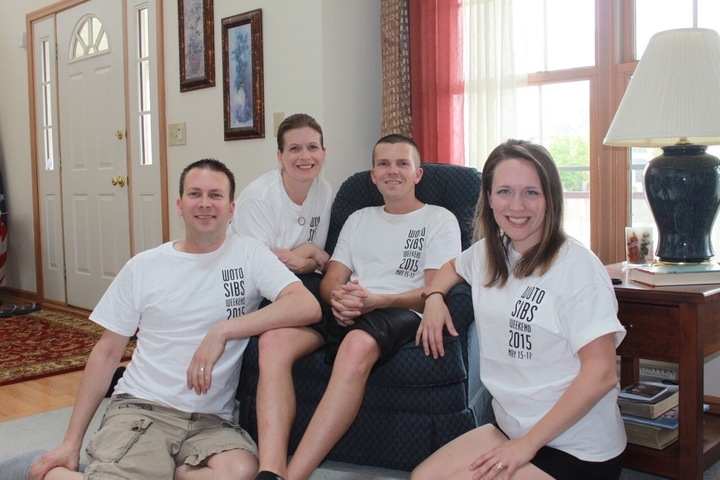 Woto Sibs Weekend T-Shirt Photo