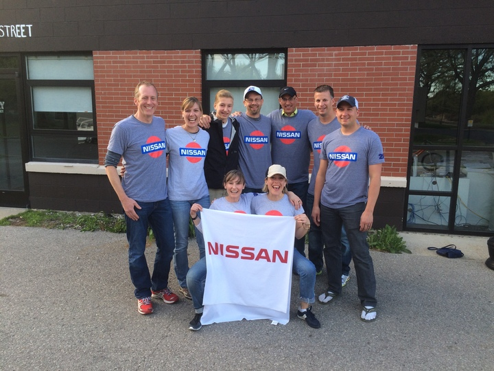 Team Nissan @ Bayshore Marathon T-Shirt Photo