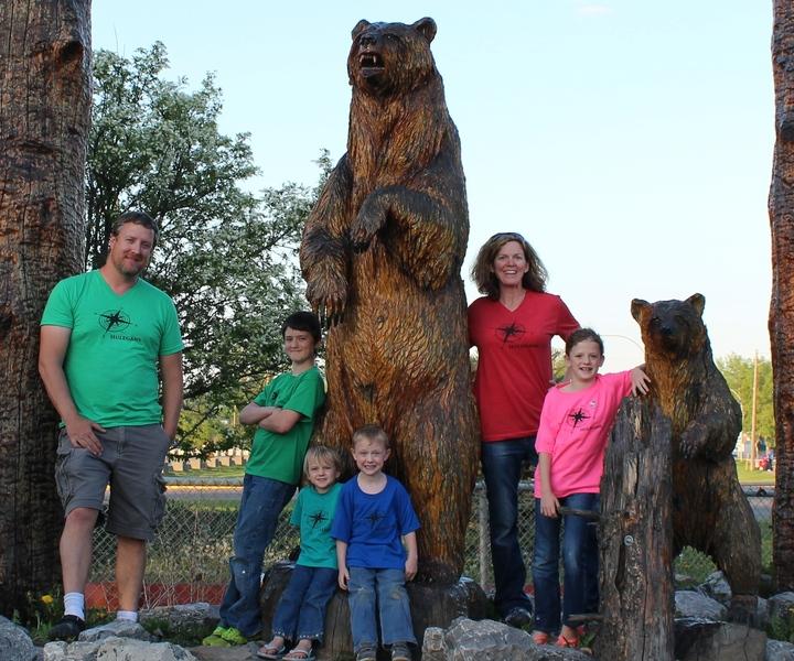 Hulegans Travel The Alaska Highway T-Shirt Photo