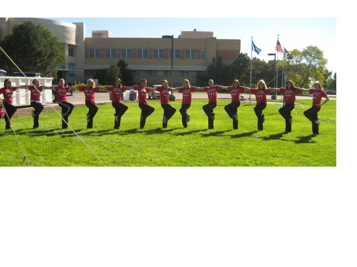 Shs Drill Team   Dt Luv! T-Shirt Photo