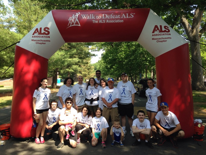 Team Andrew's Journey Walk For Als T-Shirt Photo