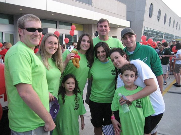 Team Jill's Light The Night Walk For Leukemia & Lymphoma T-Shirt Photo