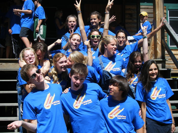 Camp Seniors Going Crazy For 2008 Camp Shirt! T-Shirt Photo
