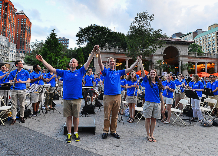 Columbia Summer Winds 2014 Union Square Concert T-Shirt Photo