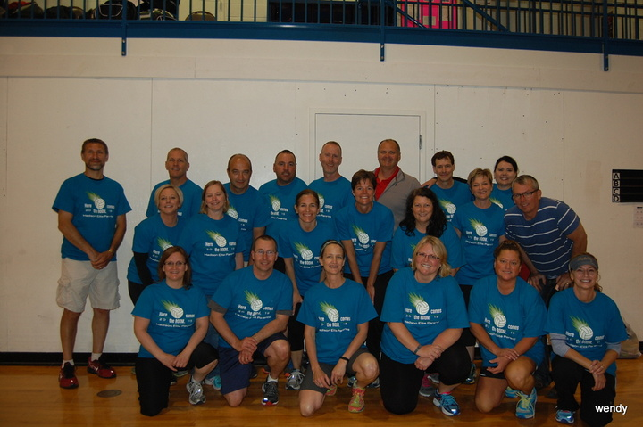 Madison Elite Volleyball Parents  T-Shirt Photo