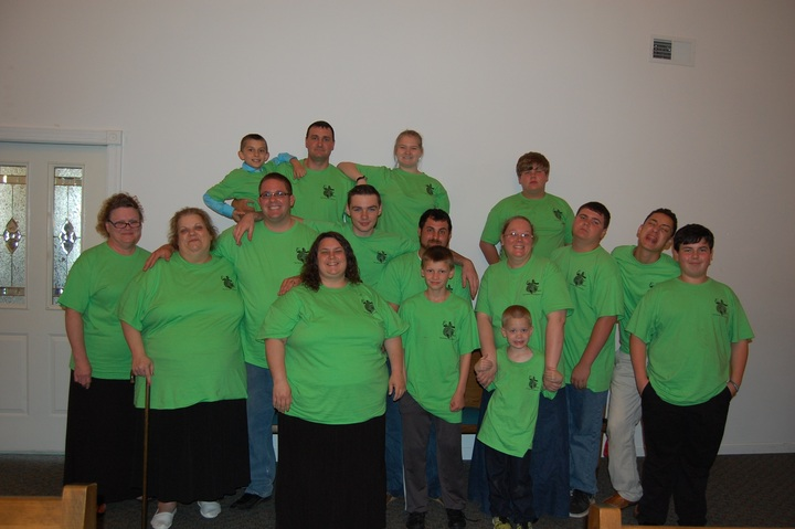 Church After Shock Group T-Shirt Photo