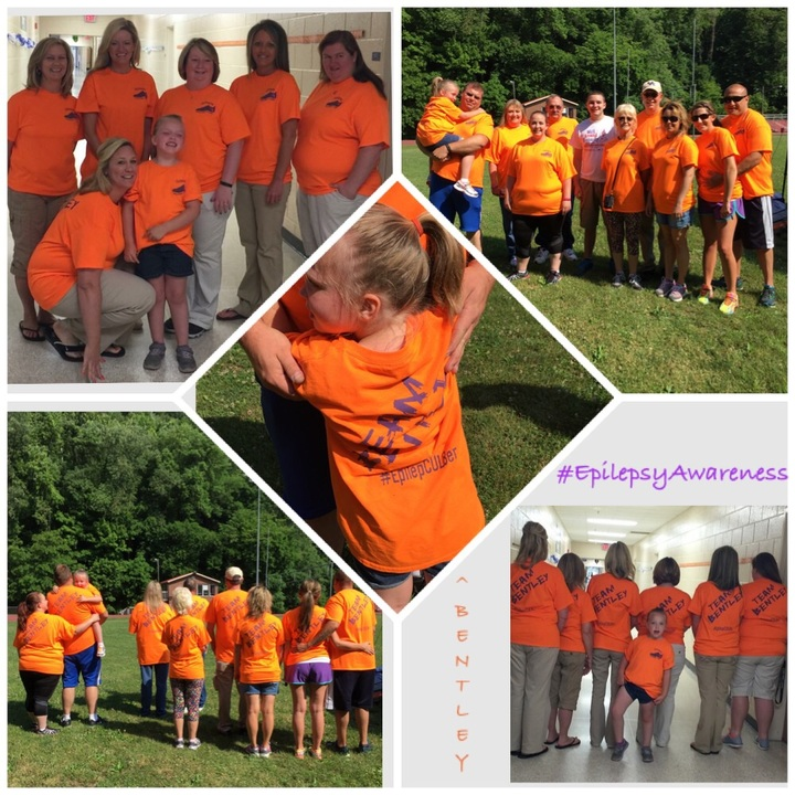 Team Bentley For Epilepsy Awareness T-Shirt Photo