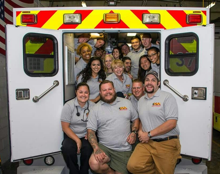 Richmond Volunteer Rescue Squad Emt Class 2015 T-Shirt Photo