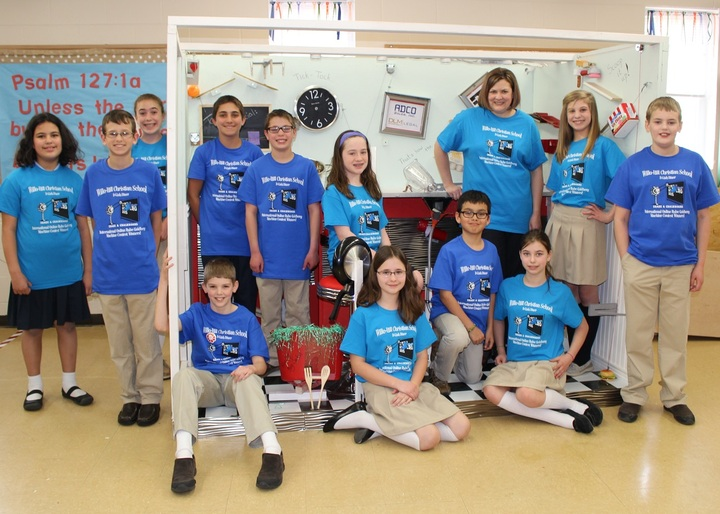 2015 Willo Hill Christian School Rube Goldberg Team T-Shirt Photo