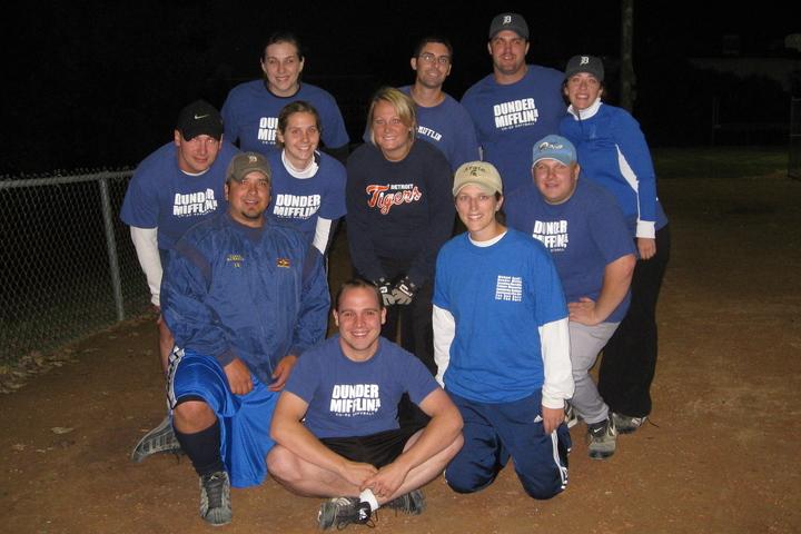 Dunder Mifflin Softball T-Shirt Photo