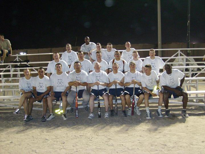 Usaf Bucca Stampede In Iraq T-Shirt Photo