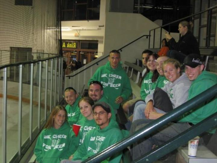 Hockey Group Photo T-Shirt Photo